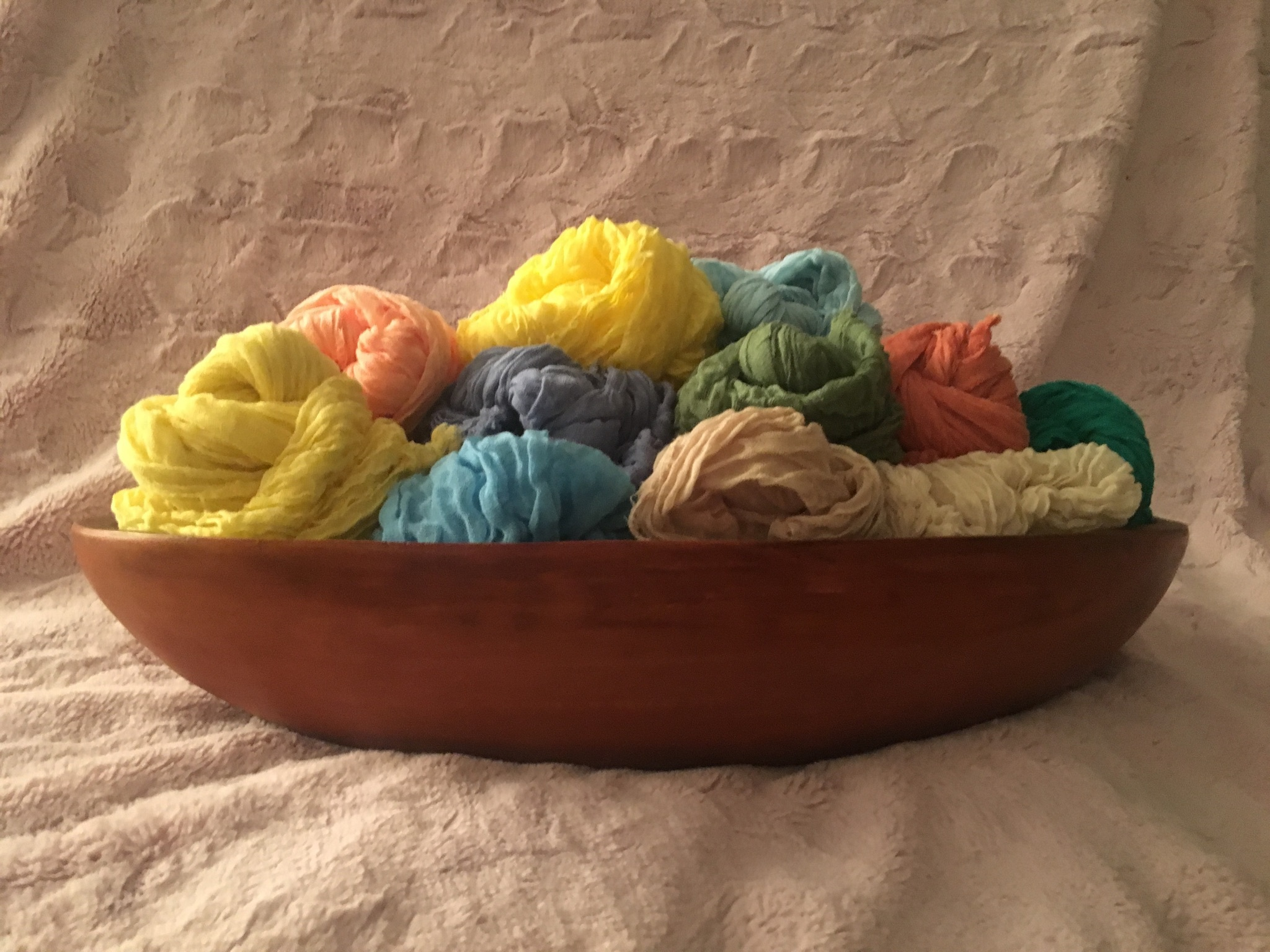 Colored Cheesecloth
